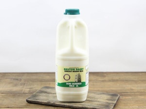 Green Top 2lt Organic Somerset Semi-skimmed Milk