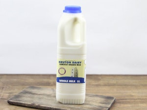 Blue Top 1lt Organic Somerset Full Cream Milk