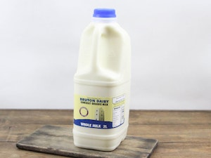 Blue Top 2lt Organic Somerset Full Cream Milk