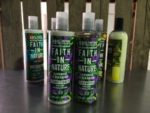 Faith in Nature Conditioner, Lavender and Geranium, 400ml