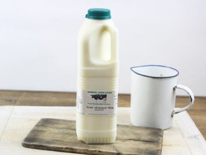 Green Top 1 lt  Somerset Semi-skimmed Milk