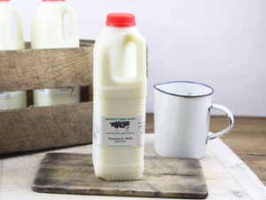 Red Top 1 lt Somerset Skimmed Milk