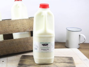 Red Top 2lt Somerset Skimmed Milk