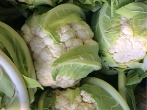 Cauliflower, White, each