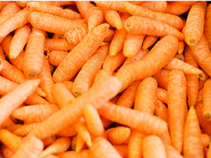 Carrots, washed 10kg box