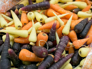 Carrots, Chantenhay Mixed, 500g