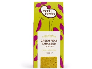 Crackers, Green Pea and Chia Seed, 160g