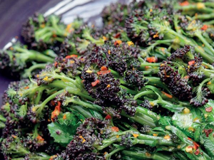 Broccoli, Purple Sprouting, Organic, 300g