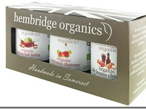 Gift Pack, Organic Chutneys, box
