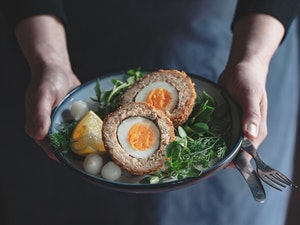 Scotch Egg, Smoked Salmon, 150g, each