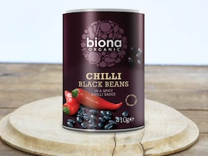 Black Bean Chilli, Organic, 400g