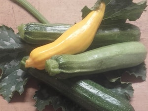 Courgettes, Organic, Mixed Varieties, 400g