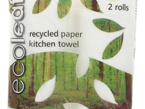 Kitchen Towel, Recycled Paper, 2 roll pack