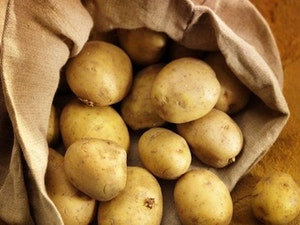 Potatoes, Washed White (Carry Bag), 5kg