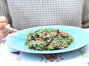 Wild Mushroom Risotto, One Person, 350g