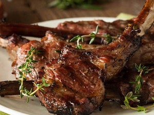 Lamb chops, pack of 4, 250g
