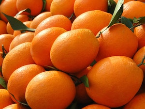Oranges, Organic, Valencias, 750g – copy