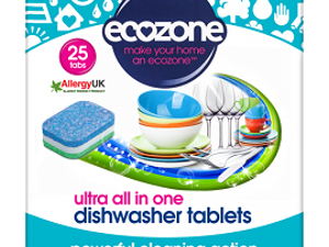 Dishwasher Tablets, 25 tablets