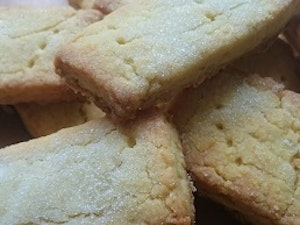 All-butter Orange Shortbread