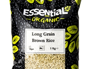 Rice, Organic Long Grain, Brown, 1kg