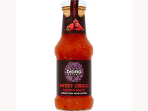 Sweet Chilli Sauce, Organic, 250ml