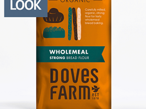 Flour, Organic, Strong 100% Wholemeal, 1.5kg