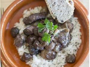 Beef Bourguignon, Single Portion