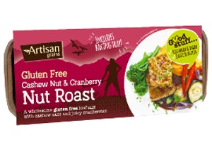 Cashew & Cranberry Nut Roast