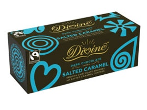 Divine Salted Caramel Thins, 200gms