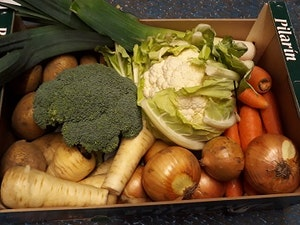 The Small Essential Christmas Vegetable Box