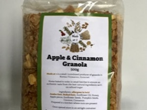 Apple & Cinnamon Granola, 500 gms
