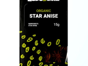 Star Anise, Organic Dried, 15g