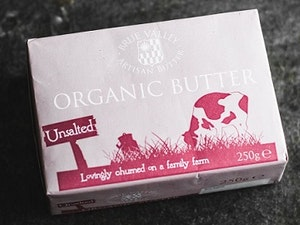 Butter, Organic Unsalted, 250gms