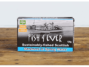 Mackerel in Spring Water, 125gm